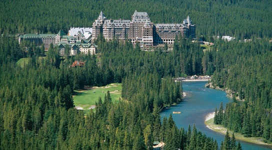 Banff Springs Hotel has wonderfully rich history. Have to take the historical tour when you stay!