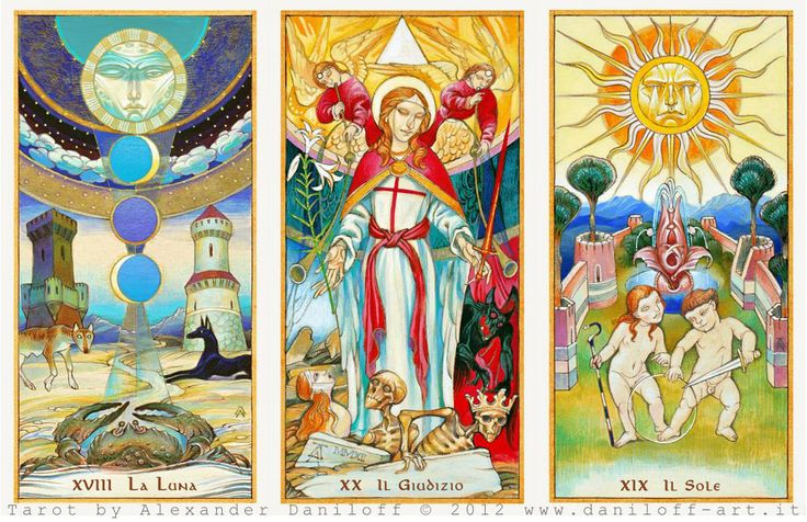 Mr. La-luna's Tarot Blog: Alexander Daniloff's 78 card deck