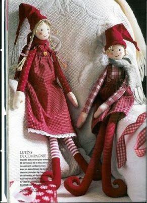 Muñecos Country: Navidad