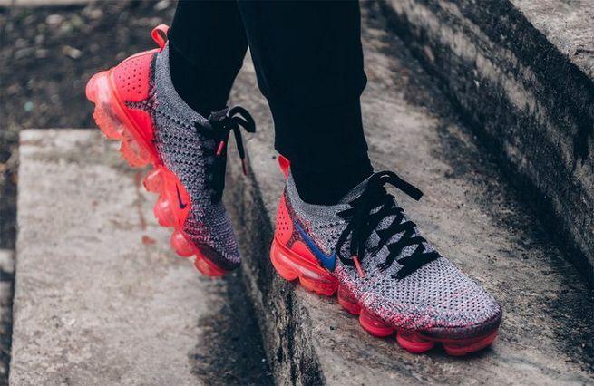 competitive price abc93 c28d1 Fashion Nike Air VaporMax 2 0 Womens Running Shoe Punch Ultramarine Grey  Black Pink 942843-104