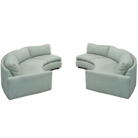 17 Best Images About Round Couches On Pinterest Italian Leather Curved Sofa And Contemporary Sofa