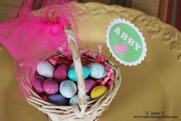 Easter Basket Place Card HoldersHoliday, Place Card Holders, Kids Places, Easter Places, Places Holders, Place Cards, Baskets Places, Cards Holders, Places Cards