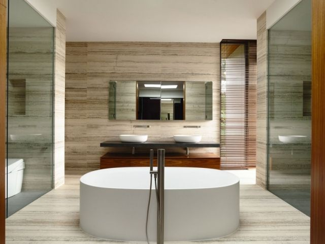 355 best Badezimmer Ideen images on Pinterest Bathrooms - luxus badezimmer modern braun