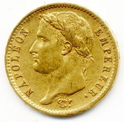 Paris Mint Gold 20 Francs Napoleon Bonaparte Emperor Of