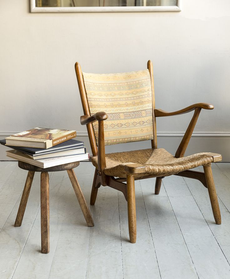 Manufactured in the in the Netherlands by De Ster, the design often  attributed to Bas van Pelt, in Walnut and having unusual proportions, a  rare example ... - 44 Best Antique: Easy & Armchairs Images On Pinterest Armchairs