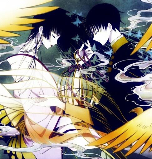 Yuuko & Watanuki | xXxHolic #manga