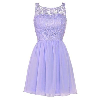 Lilac Square Neck Homecoming Dress with Appliques, Short Lace Homecoming Dress with Pleats, Cute Lavender Homecoming Dress, #020102535