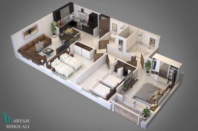 Mind Boggling 3d Home Plans Amazing Architecture Magazine House Plans House Layout Plans House Construction Plan
