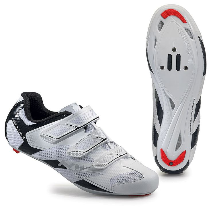 Northwave Sonic 2 Road Shoes - White-Black