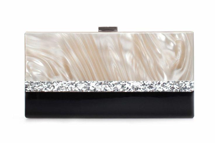 10 Statement-Making Holiday Bags. Zara clutch, $80