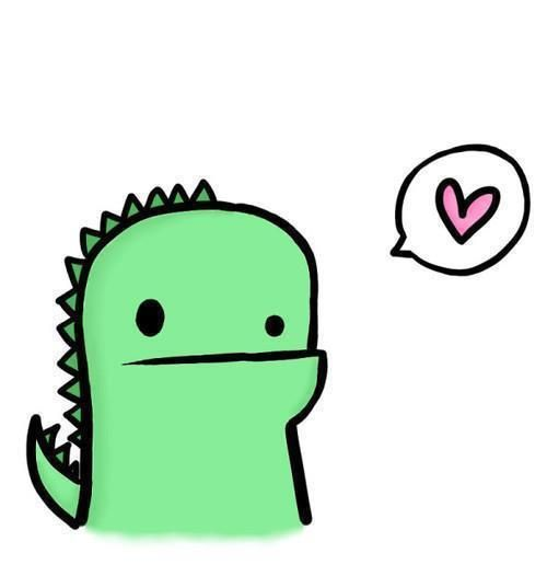 Cute dino for Toasty (xRex) by NinjaCupcakesCanFLY on DeviantArt