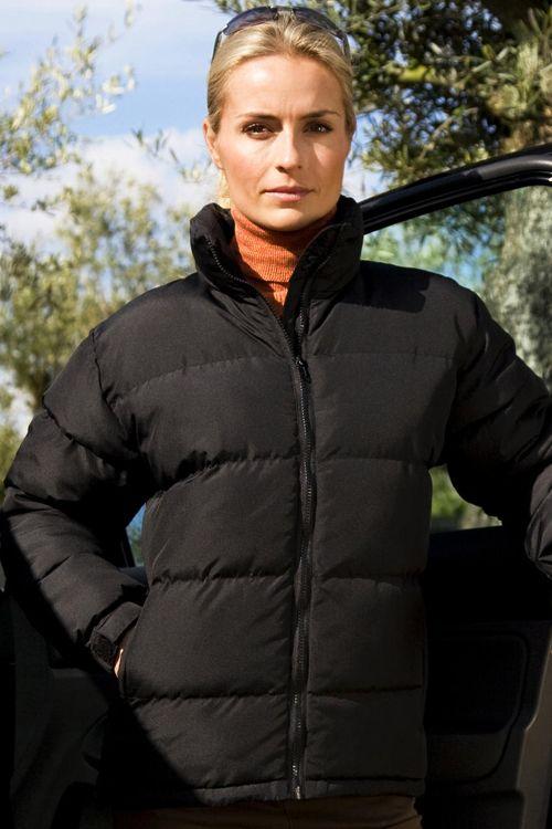 Geacă de damă căptuşită Holkam Result Urban din 100% poliester, guler cu căptuşeala din fleece #geci #personalizate #jachete #lucru #promotionale