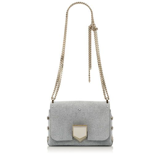 LOCKETT PETITE. Lockett Petite Shoulder Bag in Silver Glitter Stingray. Discover our Autumn Winter 16 Collection and shop the latest trends today.