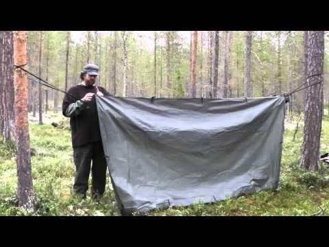 The Hanging Bivi Bag Shelter