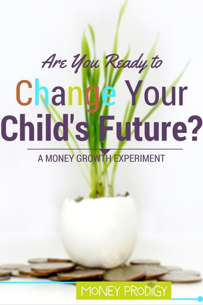 You'll be able to teach children to save using this really neat, hands-on money growth experiment. | http://www.moneyprodigy.com/money-growth-experiment-to-teach-children-to-save/