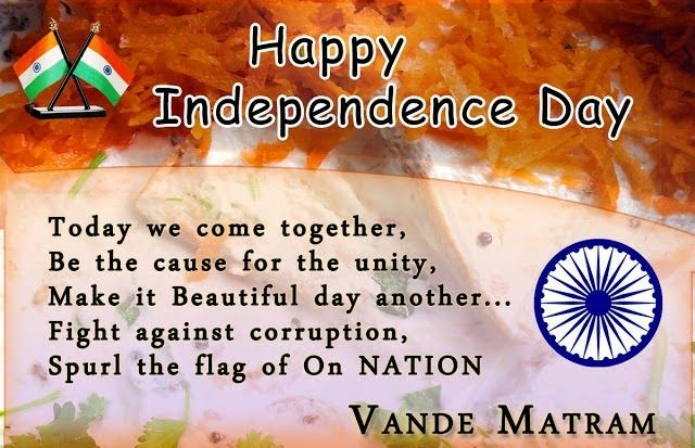 independence day speech Happy independence day speech for teachers, students :-hello friends first i want to wish you happy independence day 2018 if you are also searching for the happy independence day speech for teachers, students in english 2018 if you search best speech for independence day in english than you are at right placei will provide you speech for happy independence day in englishafter many search.