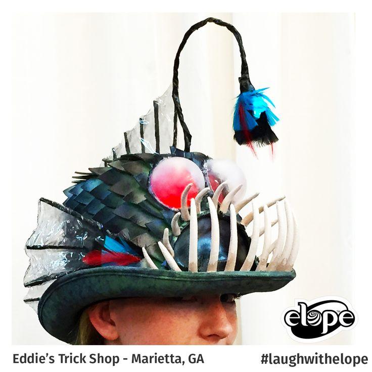 """Anglerfish"" by Heather Shuler Eddie's Trick Shop (Marietta) - Marietta, GA  Vote for this hat: http://woobox.com/27q2tb"
