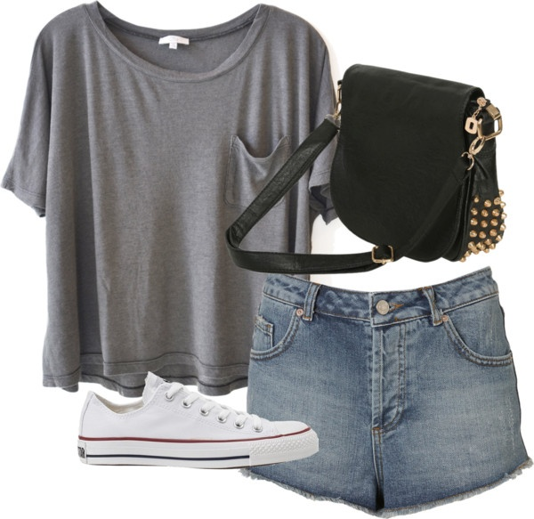 Eleanor inspired outfit for a road trip Clu cropped t shirt / Hot ...