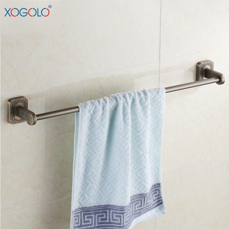 Дешевое Xogolo резные античный ванной вешалка для полотенец один рычаг ванной аксессуары для ванной комнаты вешалка для полотенец континентальный 9924, Купить Качество Бамбуковые полы непосредственно из китайских фирмах-поставщиках: