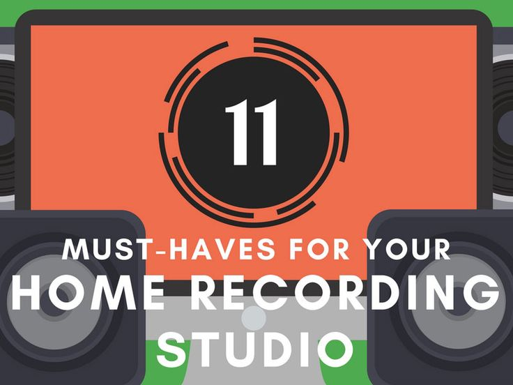 Just getting started recording, or mixing music but aren't quite sure what you need? This guide and infographic will show you what equipment you need.