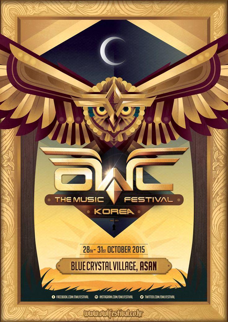 Owl Festival 2015 #poster