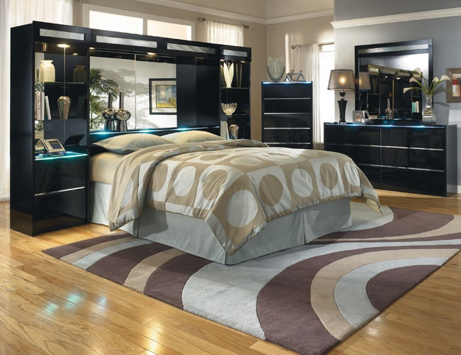 Ashley furniture black bedroom set bedroom sets for me pinterest black bedroom sets in - Bedroom sets ashley furniture ...