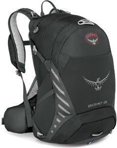 Osprey Escapist 25 fietsrugtas zwart grijs