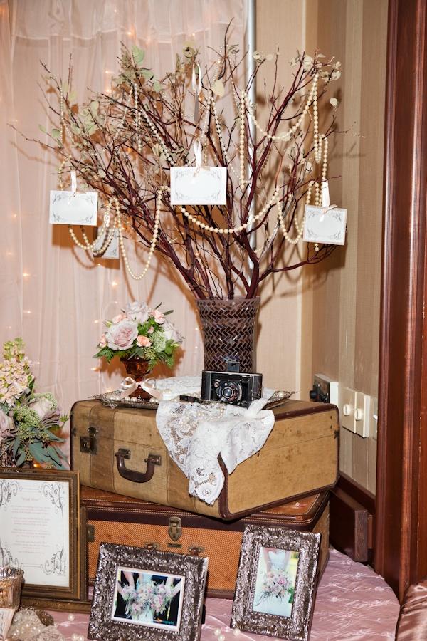 kinda neat idea maybe with heritage  wedding photos around?!