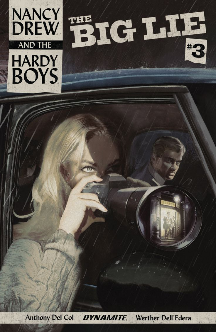 Nancy Drew and the Hardy Boys: The Big Lie #3 (Issue)