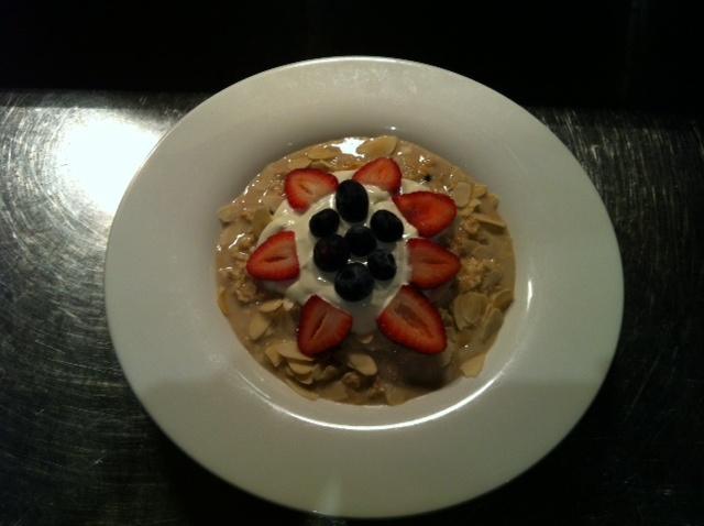 Bircher Muesli - seasonal berries, honey and yoghurt