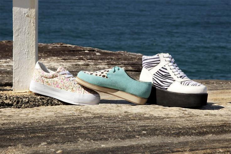 Womens Sneakers & Flatforms SS2012