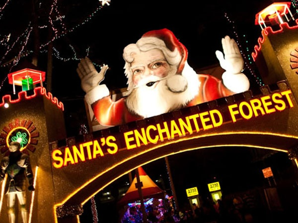 Santa's Enchanted Forest in Miami, FL