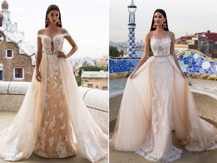 Two Gowns In One 26 Fashion Forward Convertible Wedding Dresses You Ll Love