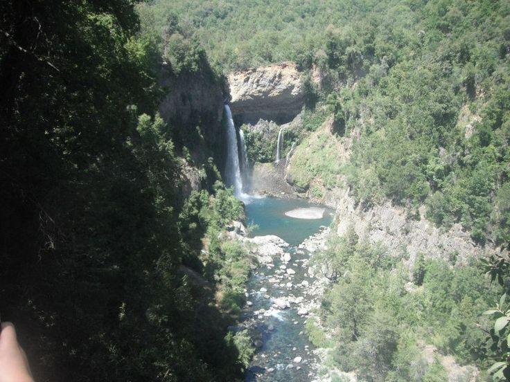 Salto de la novia, Parque nacional siete tazas.