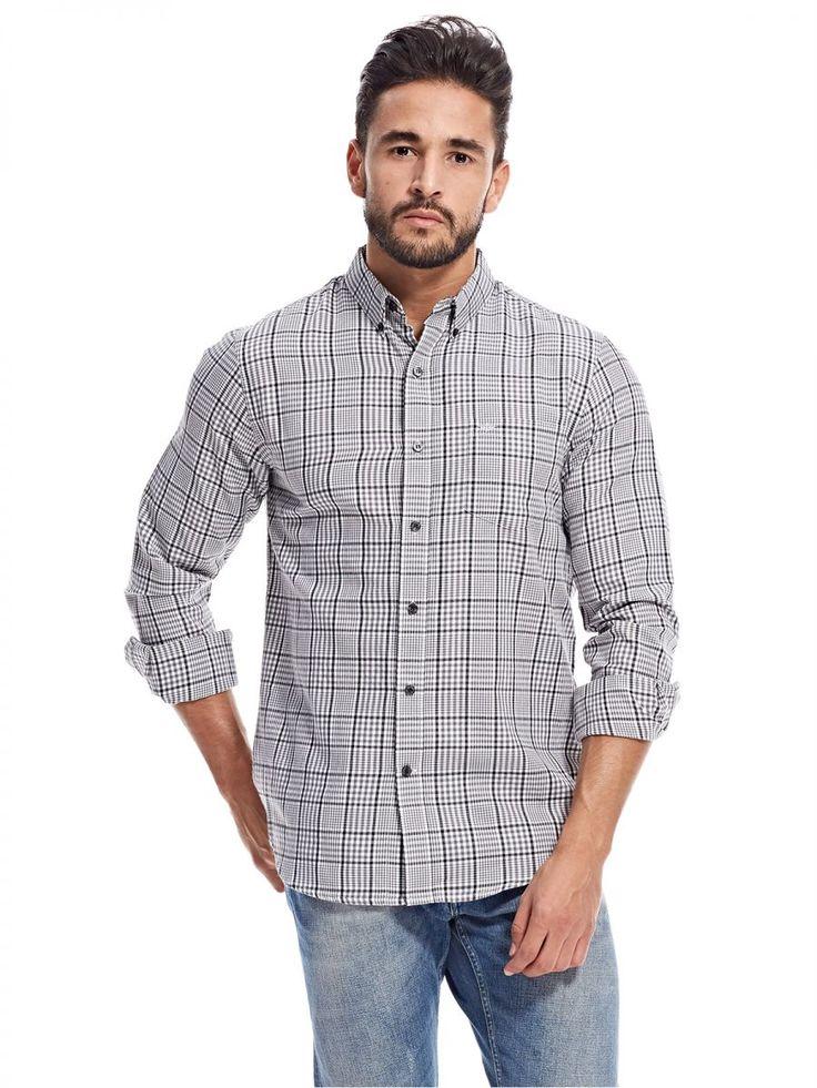 اشتري دوكرز قميص رمادي قبة قميص -رجال - بلايز/ تيشيرتات | السعودية | سوق