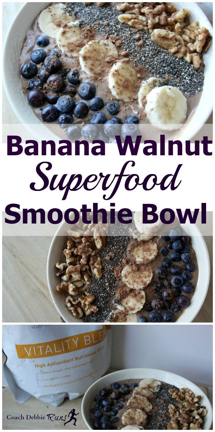 It can be challenging to stay healthy when you are busy. Here are some tips that will help, plus a recipe for a Banana Walnut Powerhouse Smoothie Bowl!