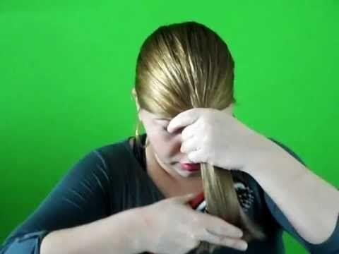 M s de 1000 ideas sobre como cortar el cabello en - Como aclarar el pelo en casa ...