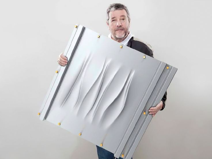 philippe starck teams up with bacacier for 3S metal cladding system - designboom | architecture