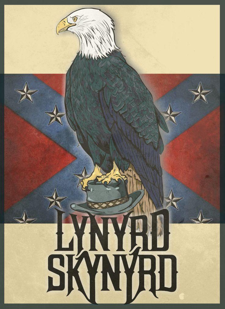 Lynyrd skynyrd - Eagle Ronnie Van Zant by calazans89.deviantart.com on @deviantART~
