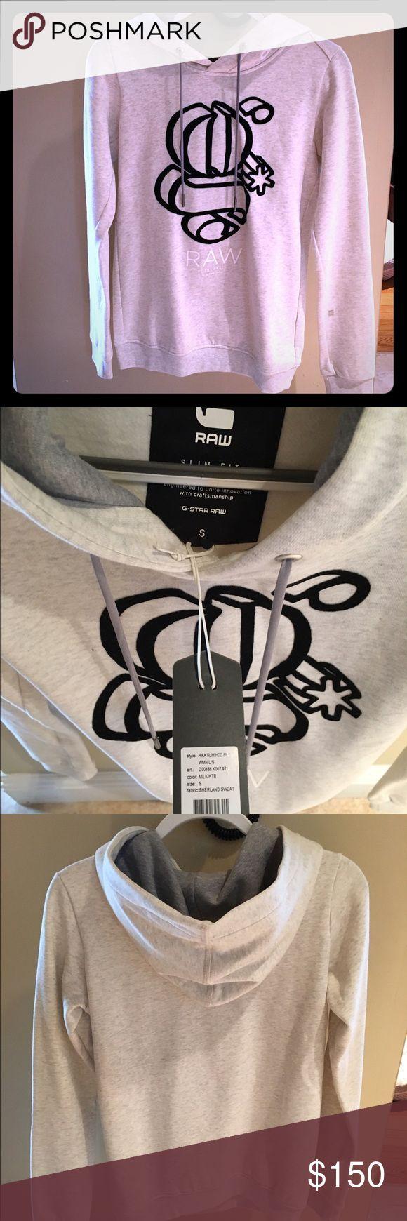G star raw sweat shirt size small G Star Raw NWT sweat shirt in perfect condition! Size small. G-Star Tops Sweatshirts & Hoodies