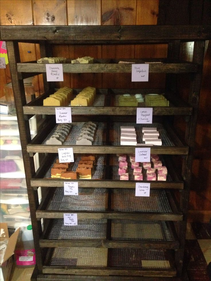 Curing Rack for my soap!!!