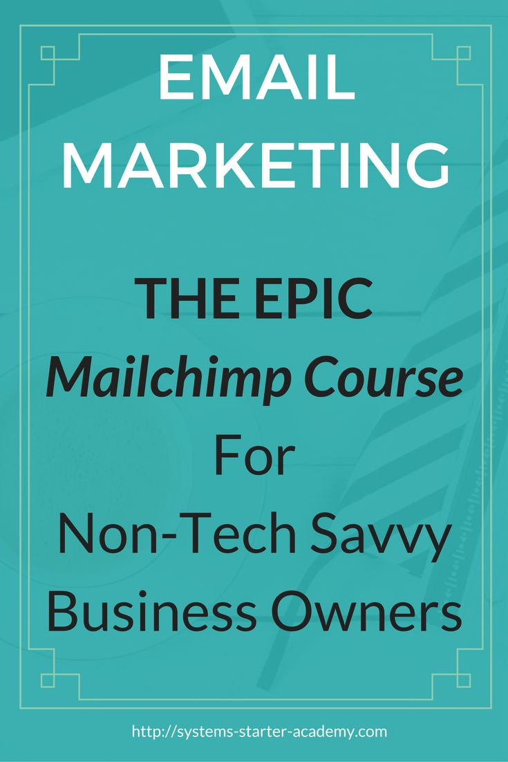 Getting started with Email Marketing and Mailchimp? Start with this EPIC…