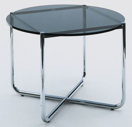 Mr Coffee Table Ludwig Mies Van Der Rohe American Born Germany 1886 1969 1927 Chrome Plated