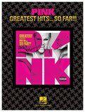 Hal Leonard - Pink: Greatest Hits ... So Far!!! Songbook - Multi