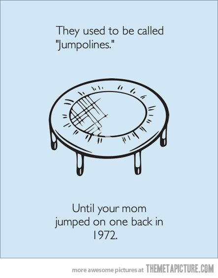 burnFunny Things, Trampolines, Laugh, Funny Shit, Funny Pictures, Call Jumpolin, Funny Stuff, Humor, Mama Jokes
