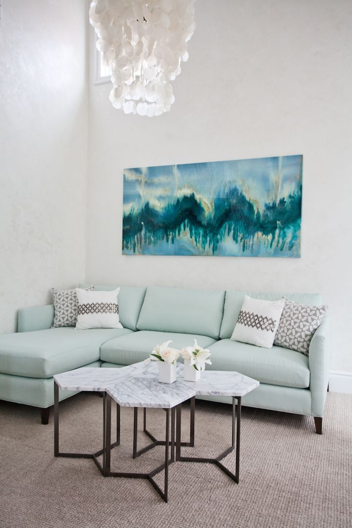 Green Couch Mountain Decor Living Room: 144 Best Images About Sherwin Williams 'Mountain Air' On