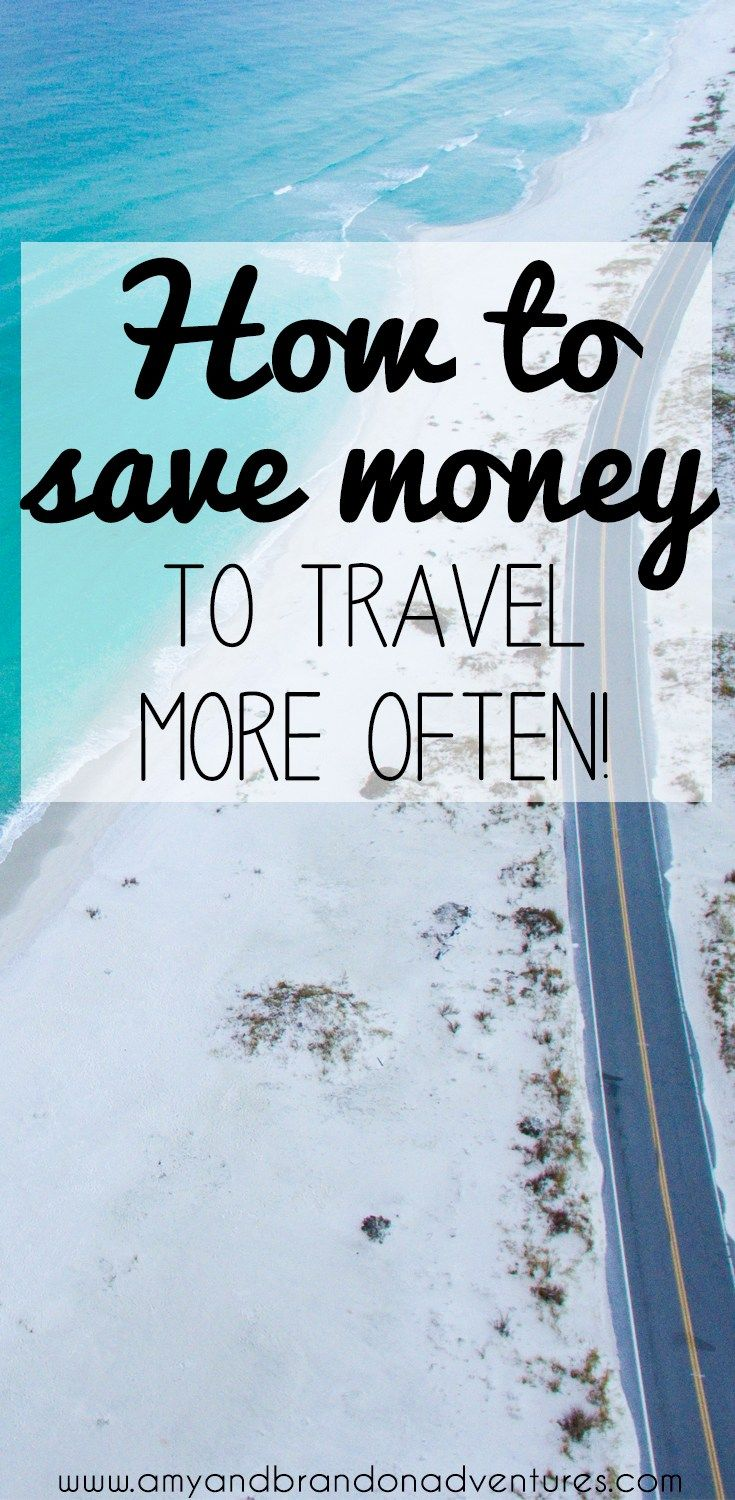 Want to travel more, but short on funds? How to save money to travel has some great tips, hacks and ideas to make your travel dreams a reality!
