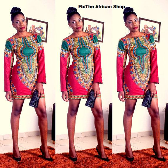 Eudoxee Dress by THEAFRICANSHOP on Etsy, £55.00
