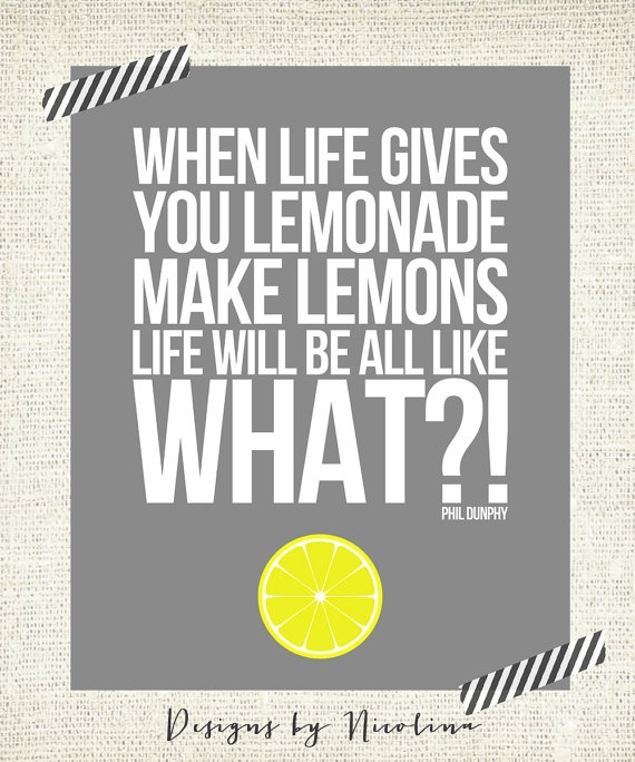 When life gives you lemonade make lemons  by designsbynicolina, $15.50