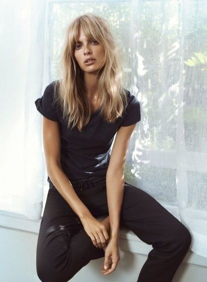Julia Stegner by Lachlan Bailey, mastering the art of perfect casual